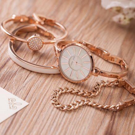 Set đồng hồ nữ Anne Klein AK1470