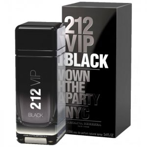 Nước hoa nam Carolina Herrera 212 VIP Black EDP 100ml