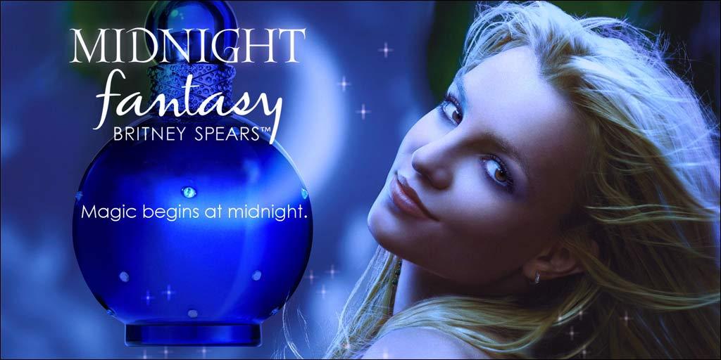 Nước hoa nữ Britney Spears Midnight Fantasy EDP 100ml
